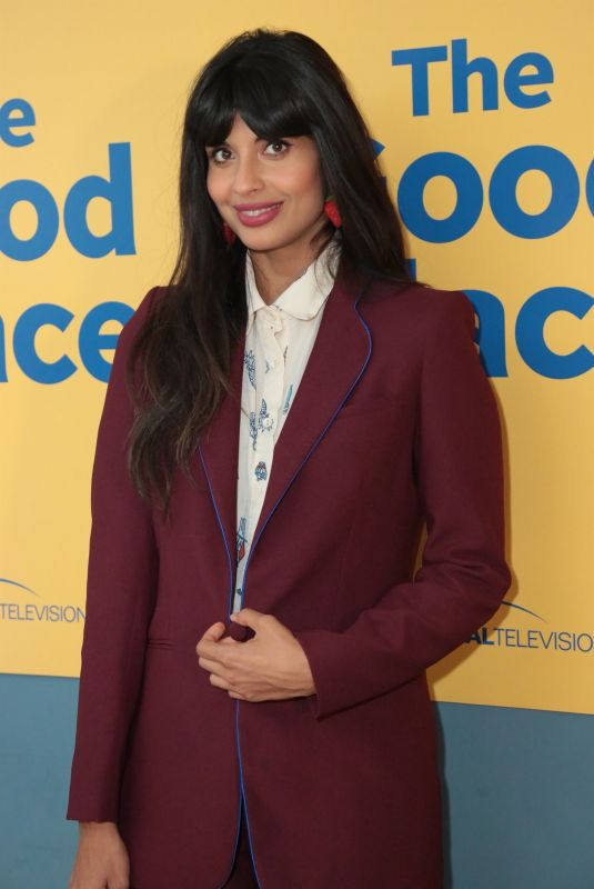 JAMEELA JAMIL at The Good Place FYC Screening in Los Angeles 06/19/2018
