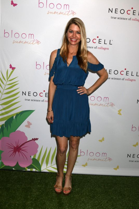 JAMIE ANDERSON at Bloom Summit in Los Angeles 06/02/2018