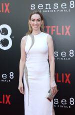 JAMIE CLAYTON at Sense8 Season 2 Finale Screening i Los Angeles 06/07/2018