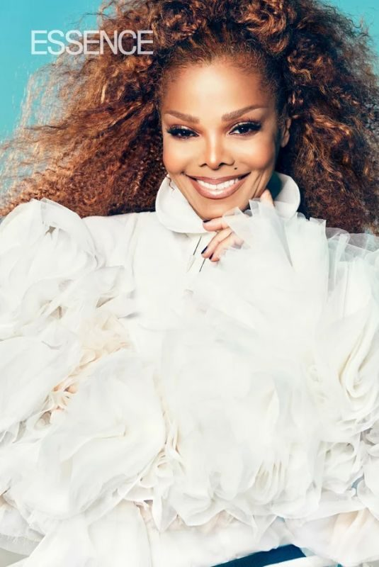 JANET JACKSON in Essence Magazine, July/August 2018 Issue