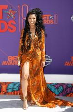JASMIN SAVOY at BET Awards in Los Angeles 06/24/2018