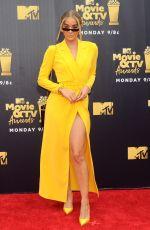 JASMINE SANDERS at 2018 MTV Movie and TV Awards in Santa Monica 06/16/2018