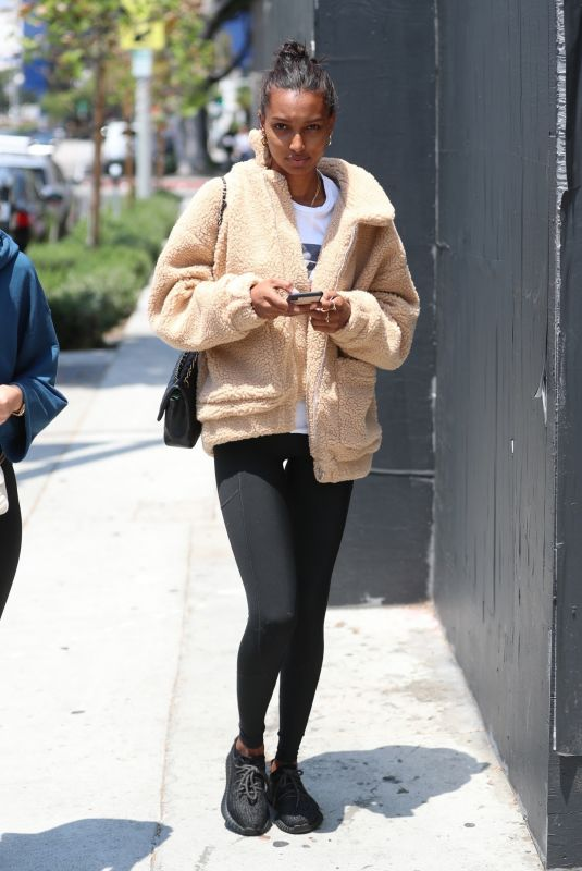 JASMINE TOOKES at Urth Caffe in West Hollywood 06/07/2018