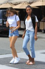 JASMINE TOOKES in Jeans Out Shopping in Beverly Hills 06/042018