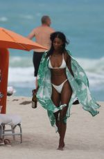 JAZZMA KENDRICK in Bikini on the Beach in Miami 06/29/2018
