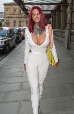 JEMMA LUCY Arrives at Manchester Arena 06/09/2018