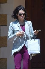 JENNA DEWAN Leaves a Friends House in Los Angeles 06/18/2018
