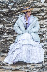 JENNA DEWAN on the Set of Victoria in Yorkshire 06/06/2018