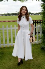 JENNA LOUISE COLEMAN at Cartier Queens Cup Polo in Windsor 06/17/2018