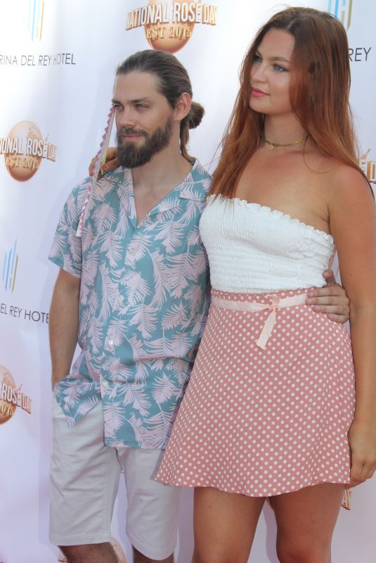 JENNIFER AKERMAN at House of Roses Celebrates Official National Rosa Day by Bodvar in Hollywood 06/11/2018