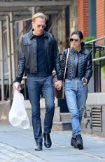 JENNIFER CONNELLY and Paul Bettany Out in New York 06/07/2018