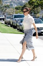 JENNIFER GARNER at Church Service in Pacific Palisades 06/10/2018
