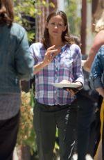 JENNIFER GARNER on the Set of Camping in Los Angeles 06/25/2018