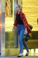 JENNIFER LAWRENCE and Cooke Maroney Night Out in New York 06/11/2018