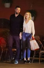 JENNIFER LAWRENCE and Cooke Maroney Out for Dinner in New York 06/21/2018