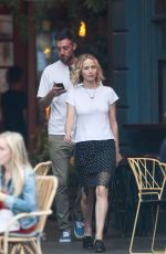 JENNIFER LAWRENCE and Cooke Maroney Out in New York 06/05/2018