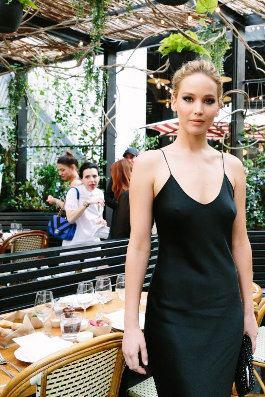 JENNIFER LAWRENCE at Standard Inaugurates Prune Nourry