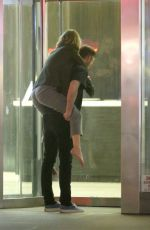 JENNIFER LAWRENCE Carried on the Back of Cooke Maroney in New York 06/13/2018