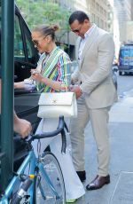 JENNIFER LOPEZ and Alex Rodriguez Leaves Casa Lever in New York 06/29/2018