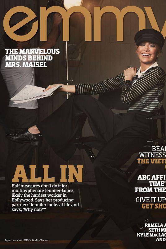 JENNIFER LOPEZ in Emmy Magazine, June 2018
