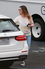 JENNIFER LOVE HEWITT Out and About in Santa Monica 06/06/2018