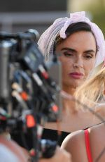 JENNIFER METCALFE on the Set of Hollyoaks in Magaluf 06/19/2018