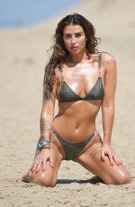 JENNY THOMPSON in Bikini at a Beach in England 06/27/2018