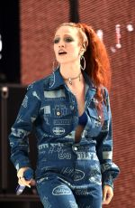 JESS GLYNNE Performs at Capital Radio Summertime Ball 2018 in London 06/09/2018