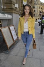 JESS IMPIAZZI at Rosso Restaurant in Manchester 06/07/2018