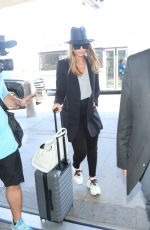 JESSICA ALBA at LAX Airport in Los Angeles 06/25/2018