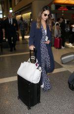 JESSICA ALBA at Los Angeles International Airport 06/10/2018