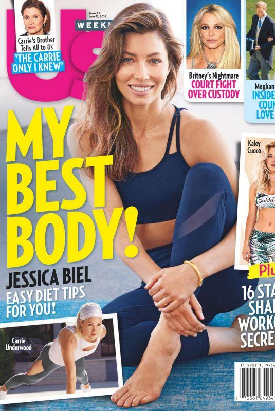 JESSICA BIEL in US Wweekly, June 2018