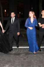 JESSICA CHASTAIN at Piaget Event in Paris 06/18/2018
