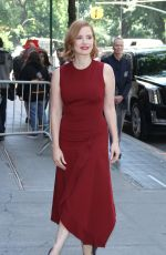JESSICA CHASTAIN at The View in New York 06/26/2018