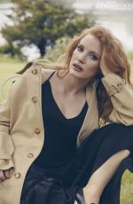 JESSICA CHASTAIN in The Hollywood Reporter, June 2018