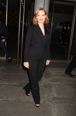 JESSICA CHASTAIN Night Out in New York 06/26/2018