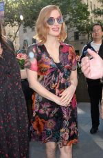 JESSICA CHASTAIN Out and About in New York 06/26/2018