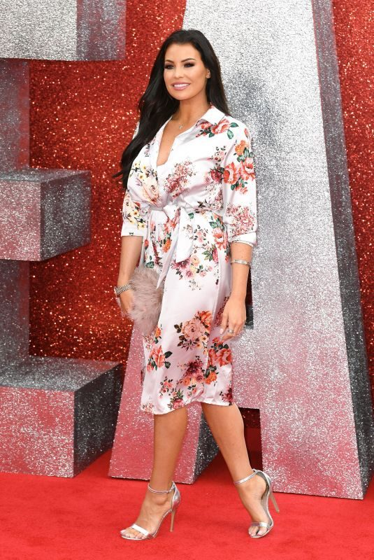 JESSICA WRIGHT at Ocean's 8 Premiere in London 06/13/2018