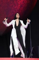JESSIE J Performs at Isle of Wight Festival 06/23/2018