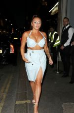 JESY NELSON Arrives at Her Surprise Birthday Party in London 06/21/2018