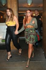 JESY NELSON Leaves Cantina Laredo in Covent Garden 06/03/2018