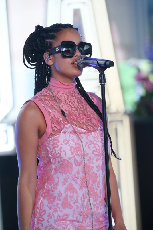 JORJA SMIRTH at Rehearsals for The One Show in London 06/08/2018
