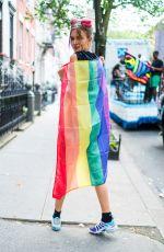 JOSEPHINE SKRIVER at NYC Pride in New York 06/23/2018