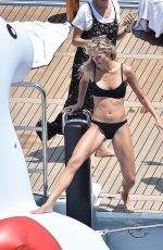 JOSIE CANSECO in Swimwear on the Set of a Photoshoot in Portofino 06/19/2018