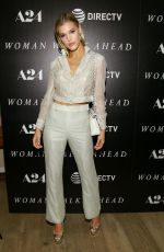 JOY CORRIGAN at Woman Walks Ahead Special Screening in New York 06/26/2018