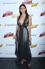 JUANA BURGA at Ant-man and the Wasp Premiere in New York 06/27/2018