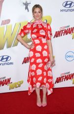 JUDY GREER at Ant-man and the Wasp Premiere in Los Angeles 06/25/2018