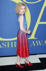 JULIA GARNER at CFDA Fashion Awards in New York 06/05/2018
