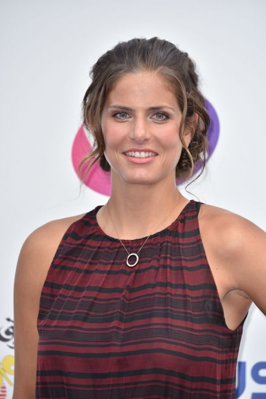 JULIA GOERGES at WTA Tennis on the Thames Evening Reception in London 06/28/2018
