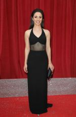 JULIA GOULDING at British Soap Awards 2018 in London 06/02/2018